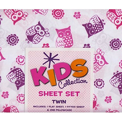 kids collection sheet print purple product image