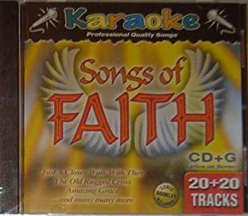 Karaoke Bay, All songs are in the traditional style - Songs of Faith