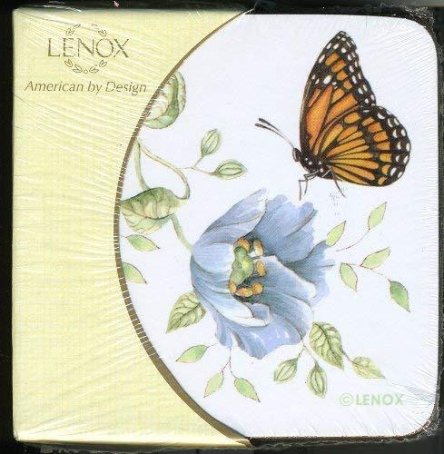 Lenox Butterfly Meadow 4 Piece Coaster Set