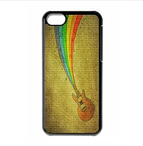Funny Guitar hard back phone case for iPhone 5c