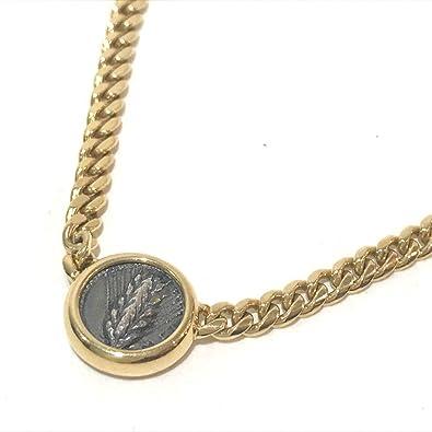 release date: b9bc7 92298 Amazon | (ブルガリ)BVLGARI モネーテ 古代コイン 2面チェーン ...