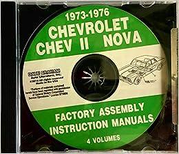 1973, 1974, 1975, 1976 CHEVY II & NOVA FACTORY PARTS ASSEMBLY