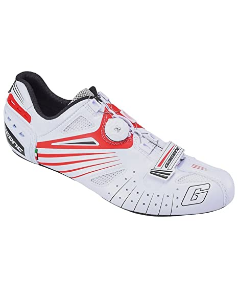 Gaerne Carbon Composite G.Speed Scarpe Road Ciclismo, Red - Rosso, 45