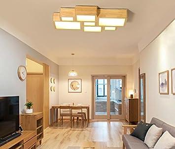 FUFU Innenbeleuchtung Kreative einfachen Holzdecke moderne großes ...
