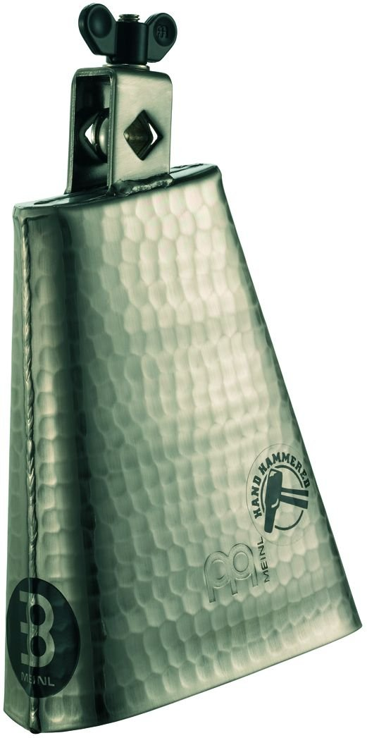 Meinl Percussion STB625HH-G 6 1/4-Inch Hand Hammered Steel Cowbell, Gold Color Finish by Meinl Percussion