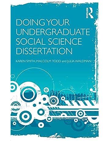 doing a dissertation