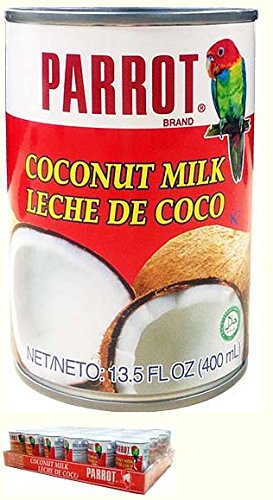 Coconut Milk - Parrot Brand in 13.5 oz cans - Case of ()