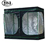 Quictent Ⅱ 96″x48″x78″ Upgraded Reflective Mylar Hydroponic Grow Tent w/ Large PVC View Window for Indoor Plant Growing, EN71-3 Approved Cover, Eco-friendly! Review
