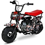 Monster Moto MM-B105-AFM 105cc Gas Mini Bike with Mag Wheels- American Flag