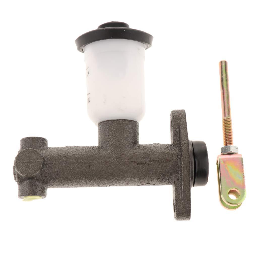 H HILABEE Ma/ître-Cylindre De Frein Hydraulique Arri/ère De Chariot /él/évateur avec R/éservoir en Fer Et en Plastique