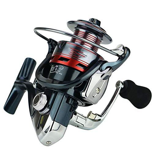 Beauty-inside 13+1Bb Spinning Fishing Reel Metal Xs1000-7000 Series Spinning Reel Fishing,A,14,3000 Series ()