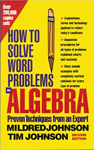 how do you solve word problems in algebra