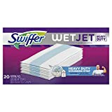 Image of Swiffer WetJet Extra Power with Mr. Clean MagicEraser Hardwood Floor Cleaner, Spray Mop Pad Refill, 20 Count