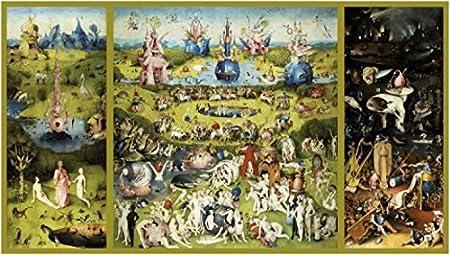 1art1 El Bosco - El Jardín De Las Delicias, 1500 Fotomural Autoadhesivo (210 x 120cm): Amazon.es: Hogar