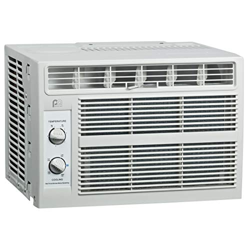 Perfect Aire 5,000 BTU 115-Volt Window Air Conditioner with Mechanical Controls, Installation Kit, Washable Filter, 150…
