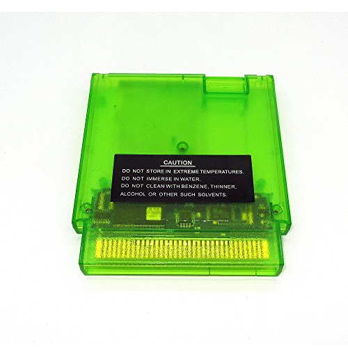 143-in-1-NES-Super-Games-Multi-Cart-72-Pin-Transparent-Green-Limited-Edition
