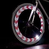 Monkey Light M210 - 80 Lumen Bike Light - 360° Visibility - Wheel & Spoke Light