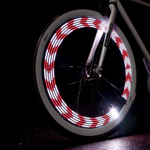 Monkey Light - Monkey Light M210 - 80 Lumen Bike Light - 360° Visibility - Wheel & Spoke Light