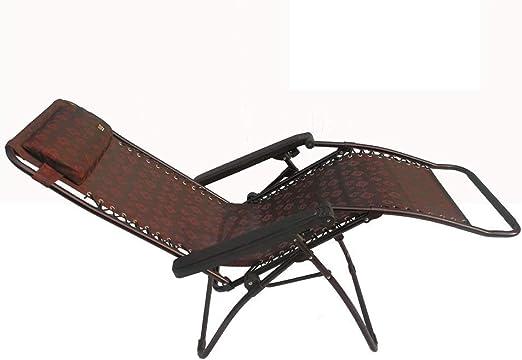 WXF Tumbonas Plegables, Tumbona de Jardín Al Aire Libre Siesta Telas Elásticas Altas Chaise Longue Silla Plegable: Amazon.es: Hogar
