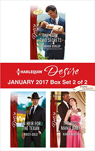 book cover of Harlequin Desire January 2017 - Box Set 2 of 2