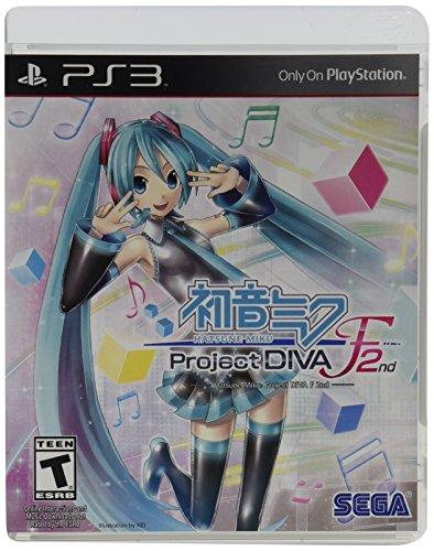 Hatsune Miku: Project Diva F 2nd - PlayStation - Hatsune Miku Video Game