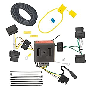 51Wc juDkKL._SY300_ amazon com tow ready 118551 t one connector assembly for ford Wiring Harness Replacement Hazard at edmiracle.co