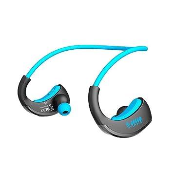 hunpta deportes auriculares Waterproof Auriculares Auriculares Auriculares inalámbricos Bluetooth, azul: Amazon.es: Deportes y aire libre