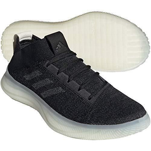 adidas Mens Pureboost Trainers Black 9.5