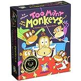 GameWright GW 241 Too Many Monkeys Board Games