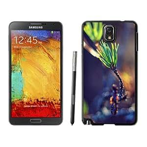 Beautiful Custom Designed Cover Case For Samsung Galaxy Note 3 N900A N900V N900P N900T With Green Plant Bokeh Phone Case