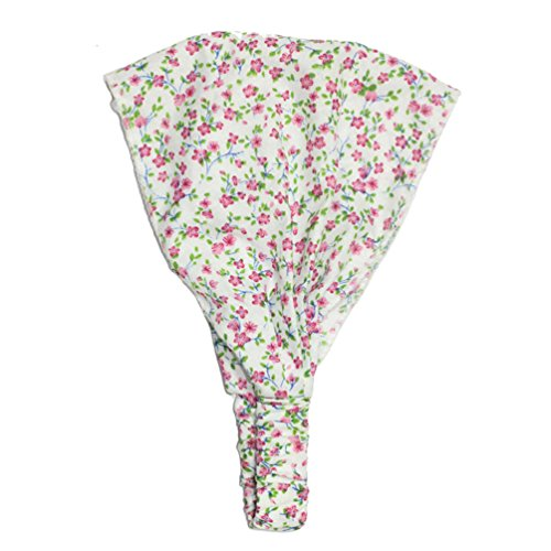 Meiyuan Bandana Kids Baby Floral Polka Dots Headband Headscarf Headwear Hair Accessories