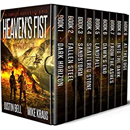 Heaven's Fist Box Set: The Complete Heaven's Fist Series - Books 1-9 by [Bell, Justin, Kraus, Mike]
