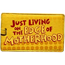 "Hallmark | Shoebox ""Living on the Edge"" Luggage Tag"