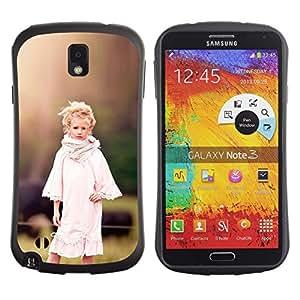 Suave TPU GEL Carcasa Funda Silicona Blando Estuche Caso de protección (para) Samsung Note 3 / CECELL Phone case / / country girl devochka ferma /