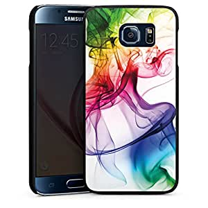 Carcasa Design Funda para Samsung Galaxy S6 Hard Case black - Strange waft