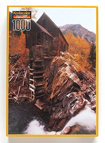 Crystal Mill, CO 1000 Piece Kodacolor Jigsaw - Mills Colorado
