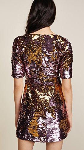 For Love & Lemons Women's Sparklers Party Dress, Dusty Rose, Medium by For Love & Lemons (Image #3)'