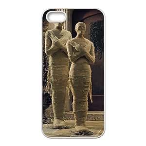 iPhone 5,5S Phone Cases White Mummy DEM723275