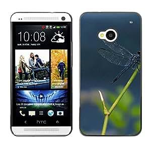 "For HTC One ( M7 ) , S-type Planta Naturaleza Forrest Flor 112"" - Arte & diseño plástico duro Fundas Cover Cubre Hard Case Cover"