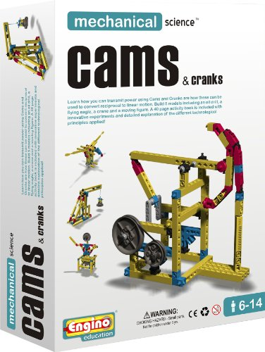 (Engino  Mechanical Science: Cams & Cranks Construction Kit)