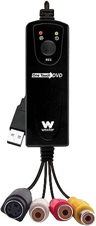 Todo para el streamer: Woxter i-Video Capture 20 - Capturadora de Vídeo con conexión USB, Resolución 720p, Streaming