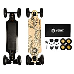 """Can't decide between the GT Street and GT AT? You can have both! Switching between setups is now faster and easier than ever before. Simply pop the new Evolve 7"""" All Terrain rims off, put the Street wheels straight on, and in mere minutes yo..."""