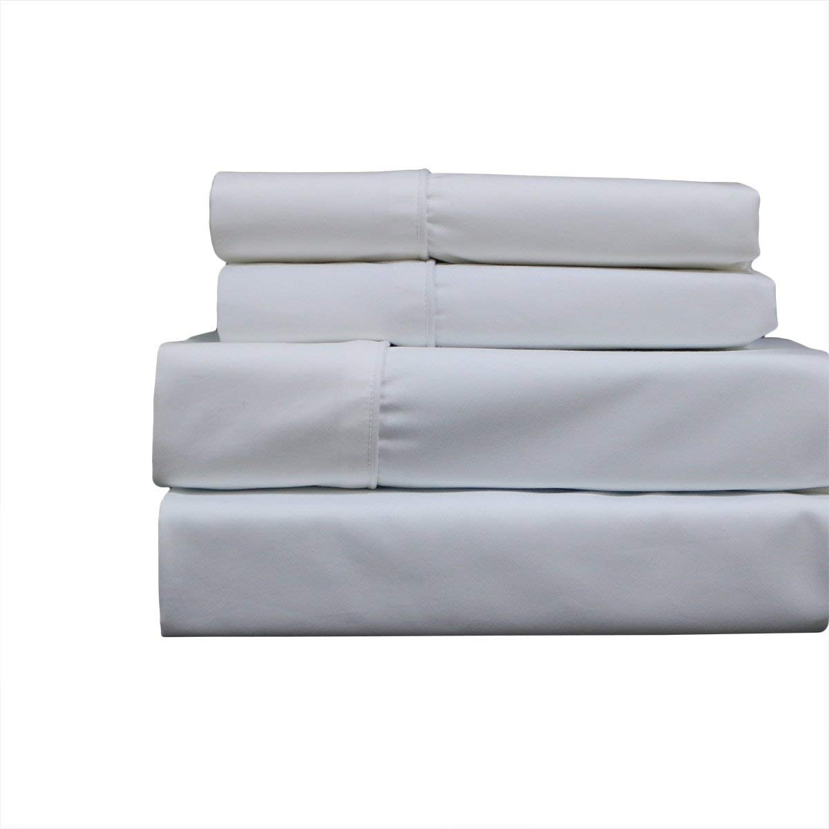 About California Queen Mattress Amazon.com: Sheetsnthings Bed Sheet Set, 650 Thread Count -California Queen,  Solid White- Soft, Cotton Blend, 4PC Sheets: Home u0026 Kitchen
