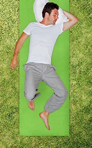 Rest 'N' Roll Easy Store Single Camping Sleeping Pad With Carrying Straps