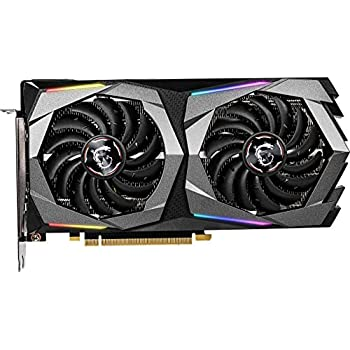 MSI Gaming GeForce RTX 2060 Super 8GB GDRR6 256-bit HDMI/DP G-SYNC Turing Architecture Overclocked Graphics Card (RTX 2060 Super Gaming X)