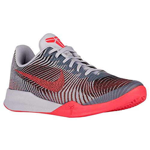 best cheap d6e75 77123 Galleon - Nike Men s Kb Mentality II Basketball Shoes (Wolf Grey Bright  Crimson Black, 14 M US)