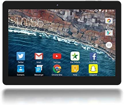 Google Certified 10 Inch Android 10 OS Tablet through Azpen IPS 1280 x 800 HD Display 2GB RAM 32GB Storage Dual Camera Quad Core Bluetooth GPS