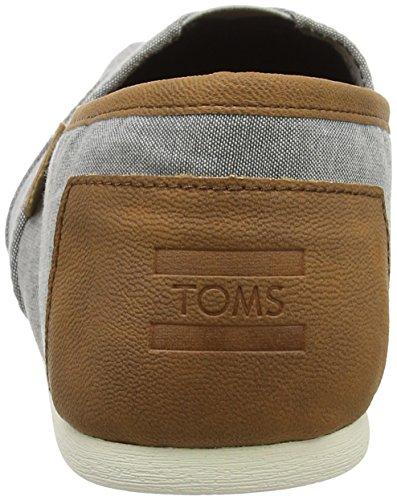 Toms Womens Classic Lino Corda Suola Chambray Slip-on Frost Grigio Chiaro E Confortevole