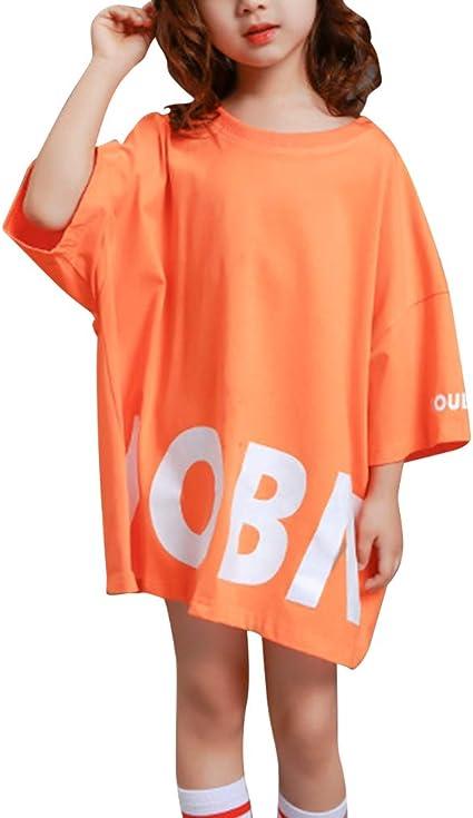 Daytwork Danse Vêtements Fille T Shirts Robes