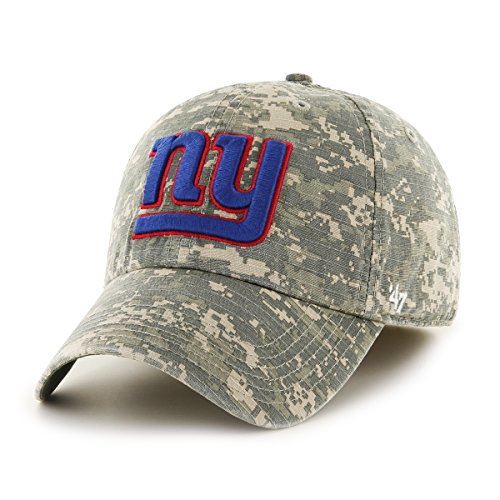 NFL New York Giants Officer Franchise Fitted Hat, Large, Digital Camo (Ny Green)